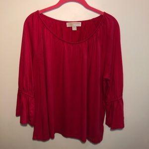 Michael Kors Women's Bell Sleeve Blouse Size XL